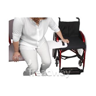 Mobility Rollator Tray 392mm x 255mm x 25mm Transparent Plastic