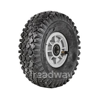 "Wheel 4"" Rim 25mm BB 410/350-4 Tyre"