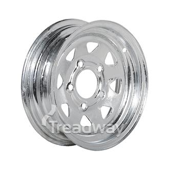 "Rim 12x4"" Galv Spoke 5x4.5"" PCD"
