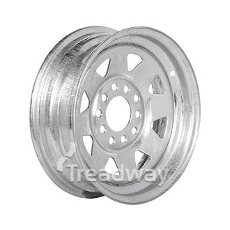 "Rim 13x4.5"" Galv Spoke 5x4.25/5x4.5"" PCD"