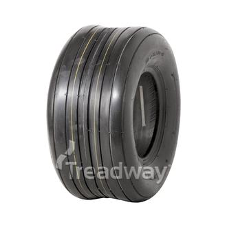 Tyre 16x650-8 10 ply Ribbed W140