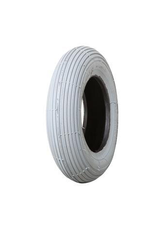 Tyre 300-4 (260x85) 4ply Grey Ribbed W2802