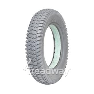 Tyre 300-8 Grey Solid Green Fill W2805GREEN C-248)
