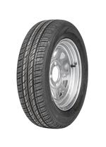 "Wheel 12x4"" Galv Spoke 4x4"" PCD Rim 145/70R12 Tyre"