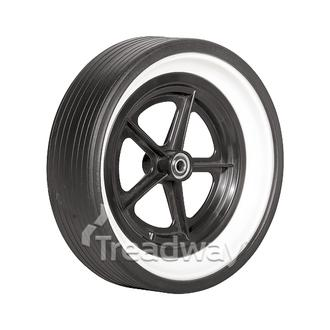 "Wheel Golf ½"" BB 300x85 Tyre"