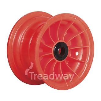 "Rim 4.75-8"" Red Plastic 1"" Nylon Bush"