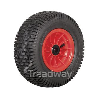 "Wheel 4.75-8"" Rim 1"" Bush 16x650-8 Tyre"