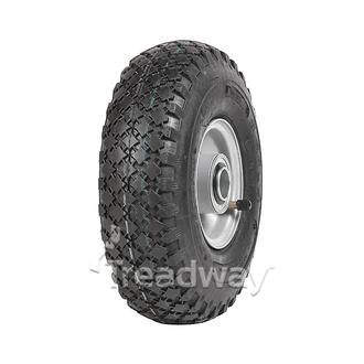 "Wheel 2.50-4"" Rim 1"" FB 300-4 Dia Tyre"