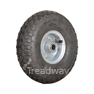 "Wheel 2.50-4"" 2pc Rim ¾"" FB 300-4 Tyre"