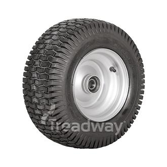 "Wheel 5.50-8"" Rim Keyed Bush 16x650-8 Tyre"