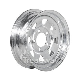 "Rim 13x5"" Galv Spoke 5x4.5"" PCD"