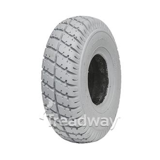 Tyre 300-4 Grey Solid PU Filled W2817PU (C9210)