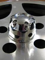 Centre Cap Chrome Plastic 70mm